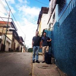 Julio Loaiza y Víctor Rosales