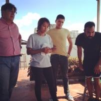 Visita de Luis Perez-Orama y Patricia Velasco