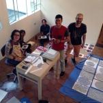 Refuerzos para el montaje Julian Wladman, Rafael Arteaga, Yoly Suaréz, Siul Rasse y Jennina Guzman
