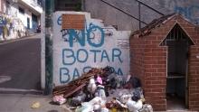 Esquina Zapatero, La acumulación de basura en la ciudad de caracas es un problema que parece no tener solución, desde la macolla queremos impulsar la recuperación de las esquinas de esta comunidad.