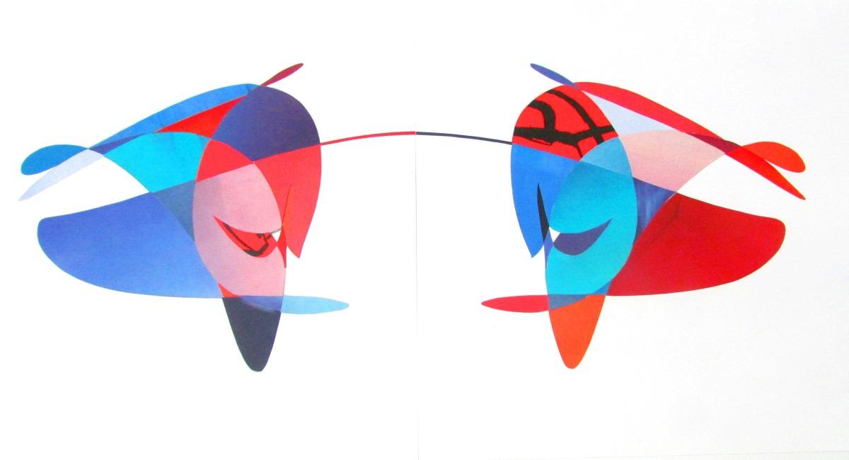 Collage ira-color / Julian Waldman