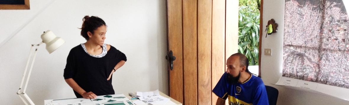 Paula Mercado en residencia
