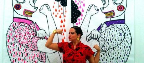 Andreina Acero, Caracas, 1977. Egresada del Instituto Universitario de Estudios Superiores de Artes Plásticas Armando Reverón (2004), desde muy jóven a estado vinculado al oficio artístico, ha participado en diversas exposiciones colectivas, individuales y varios reconocimientos por su trabajo plástico.