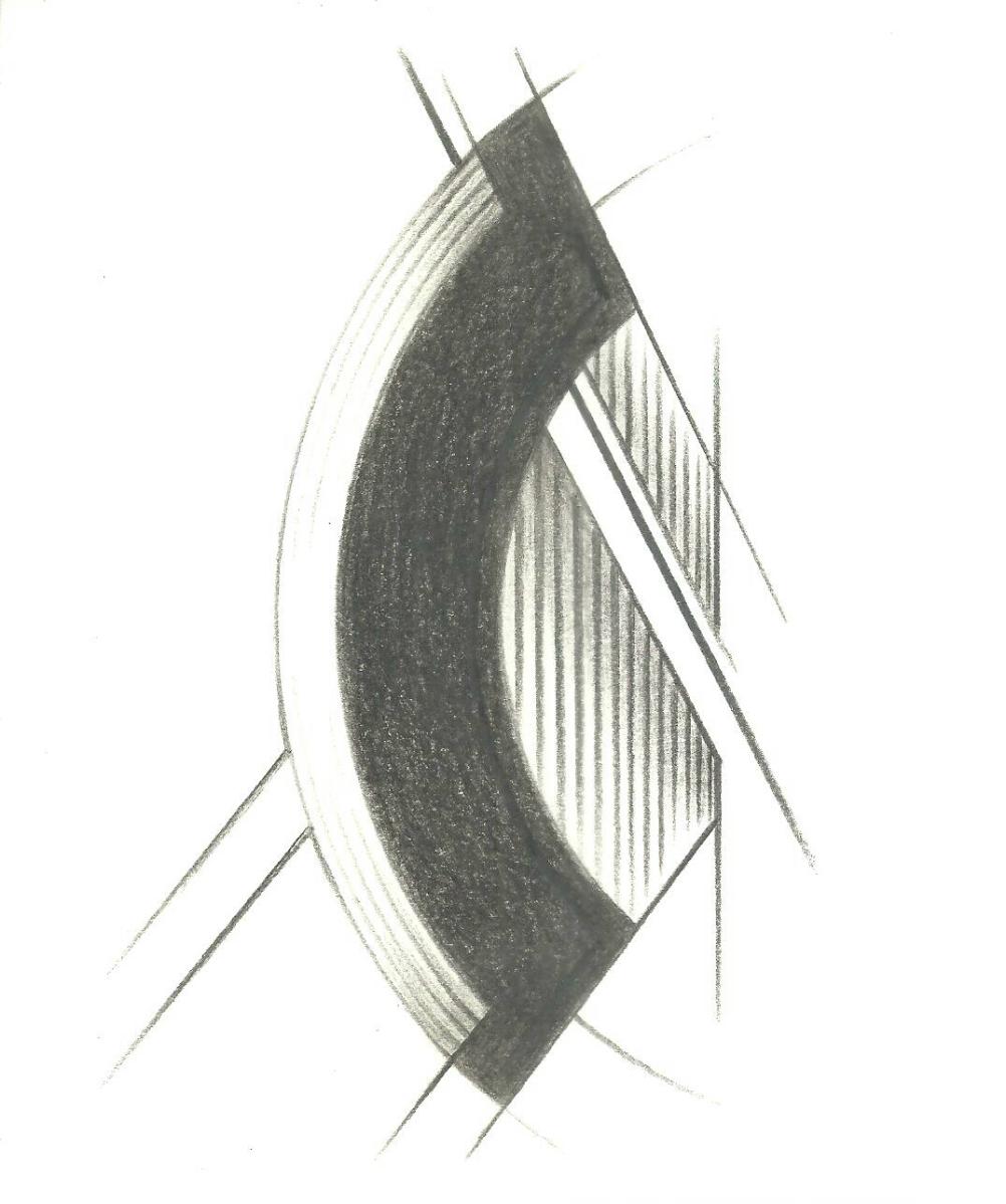 La seriación y repetición a través de medios manuales o digitales permite la construcción gráfica de líneas, párrafos y bloques de elementos que se asemejen a una especie de escritura o composición caligráfica
